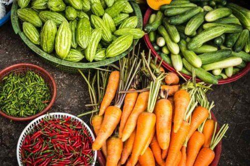 verduras - dieta vegetales